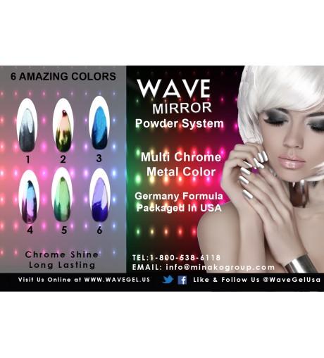 WAVE MIRROR 6 Amazing Colors