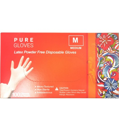 Pure Gloves Latex M