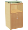 FNT Glass Top Cabinet No.925+522