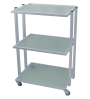 M-3028A Flat-top Glass Trolley