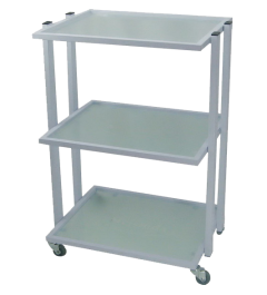 M-3028A Flat-top Glass Trolley