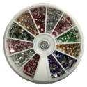 Nail Art Pearls Wheel