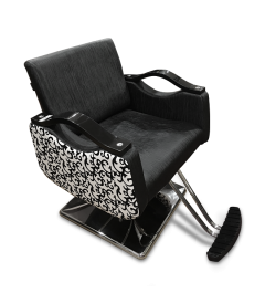 JZ 006-110 Styling Chair B&W