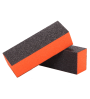 Black-Orange Nail Buffer 500p